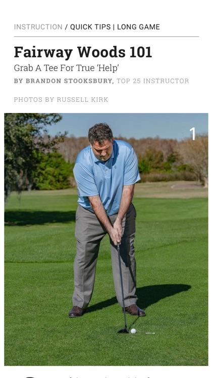 Golf Tips Magazine screenshot-4