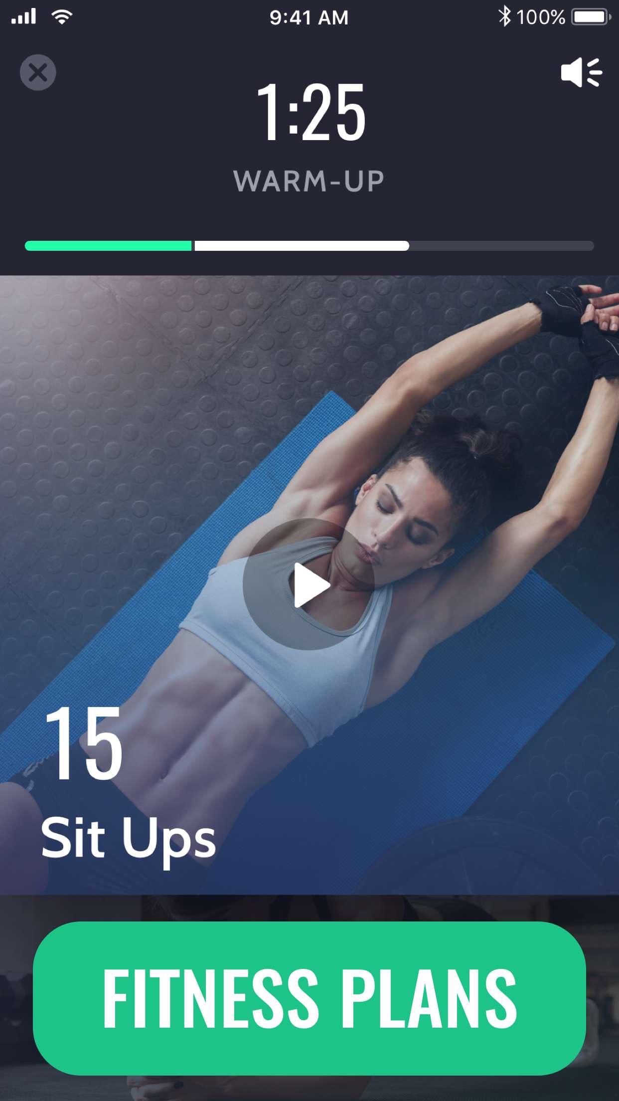 30 Day Fitness Screenshot