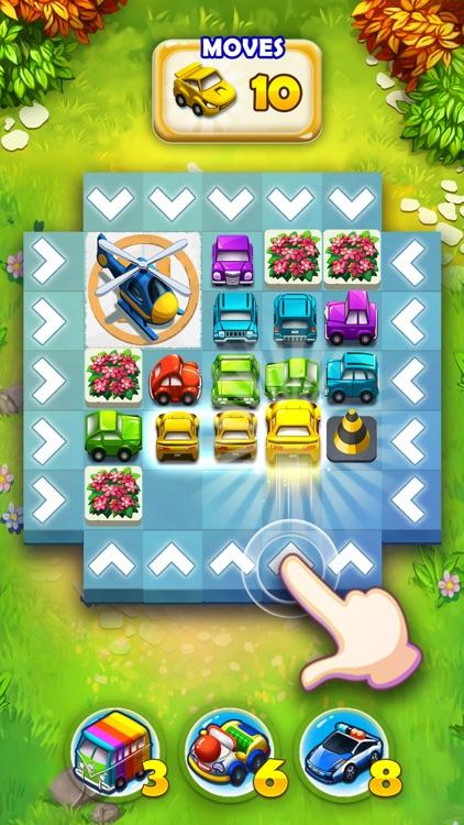 Traffic Puzzle - Match 3 Game screenshot-7