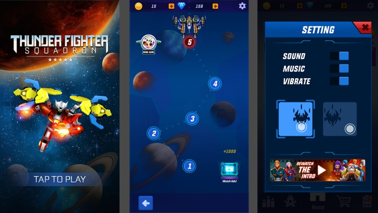 Thunder Fighter Squadron Games screenshot-6