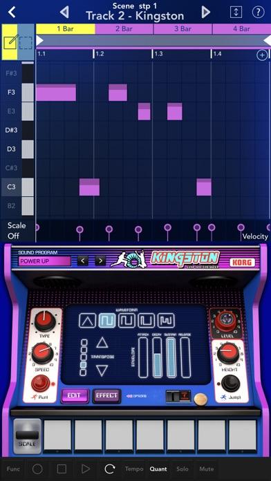 Screenshot #2 pour KORG Gadget 2