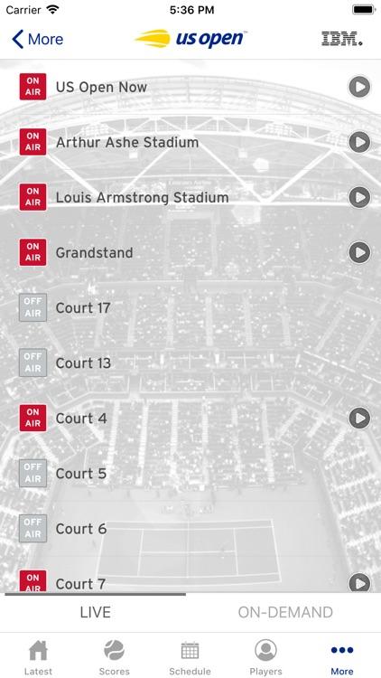 US Open Tennis Championships screenshot-4