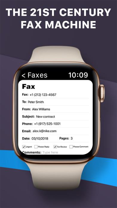 iFax fax app: Fax from iPhone Screenshot