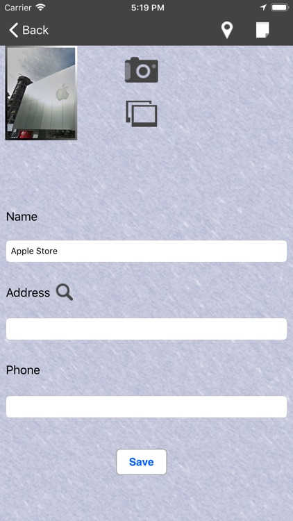 My Location Notes : Place+ screenshot-3