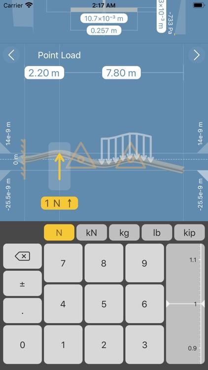 Deflection Beam Calculator