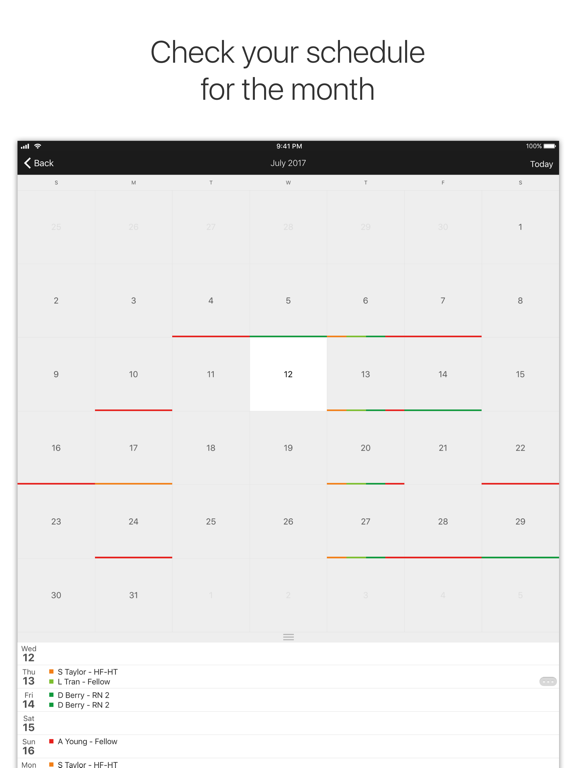 Amion - Physician Scheduling-ipad-0