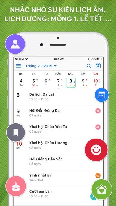 Screenshot for Lịch Vạn Niên Năm 2019 in Viet Nam App Store