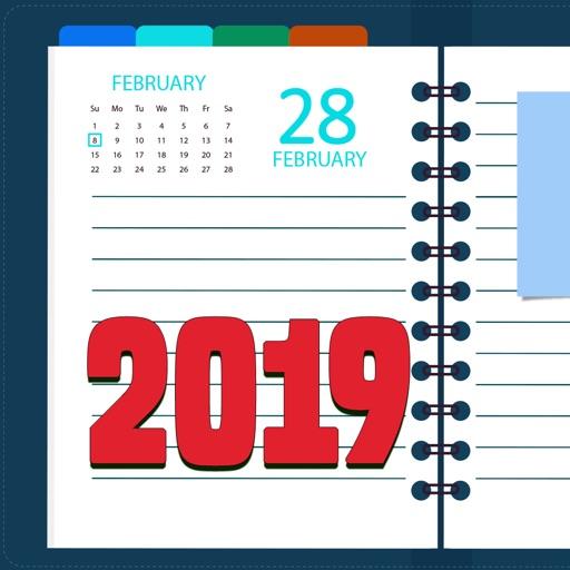 Agenda 2019 - Day Planner