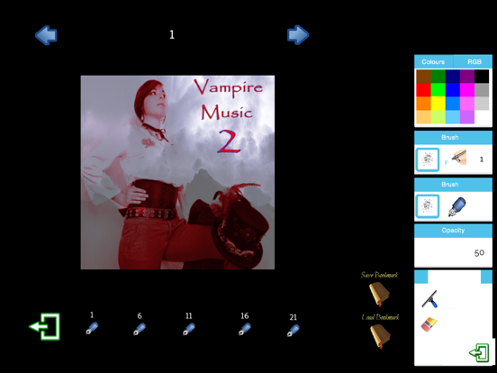 Vampire Music 2 screenshot 1