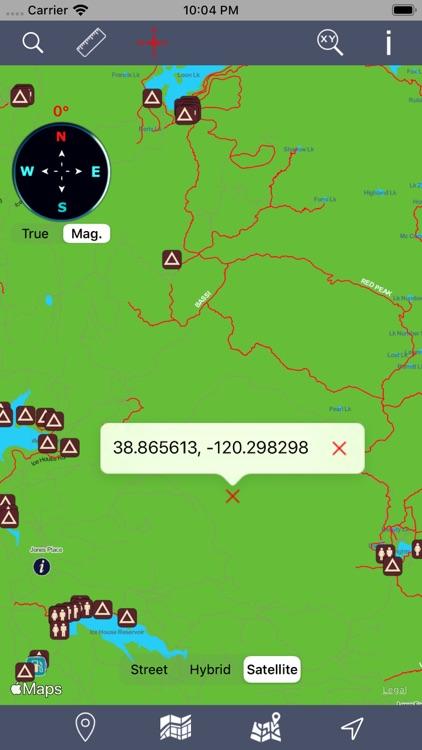 Eldorado National Forest – GPS screenshot-4