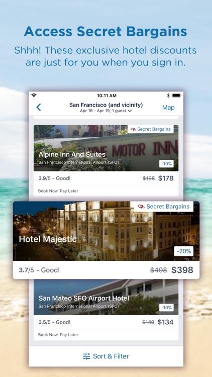 CheapTickets Hotels & Flights screenshot-4