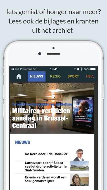 Het Belang van Limburg - Krant