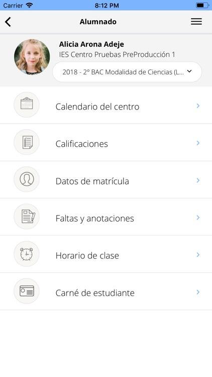 Pincel Alumnado y Familias screenshot-5