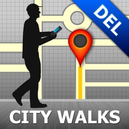 Delhi Map & Walks (F)