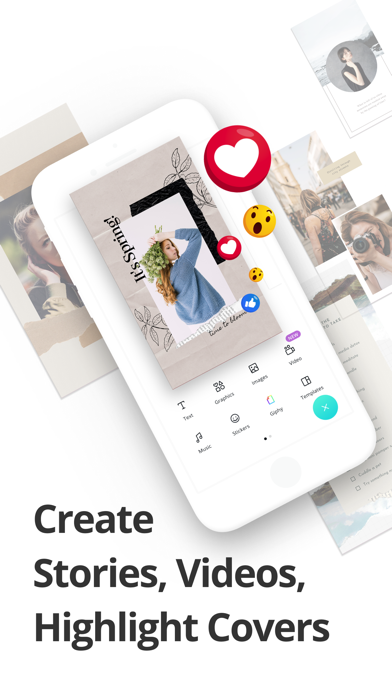Unduh Canva: Stories Editor & Maker pada Pc