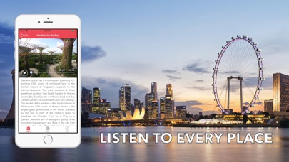 Screenshot for Singapore Travel Audio Guide in United States App Store