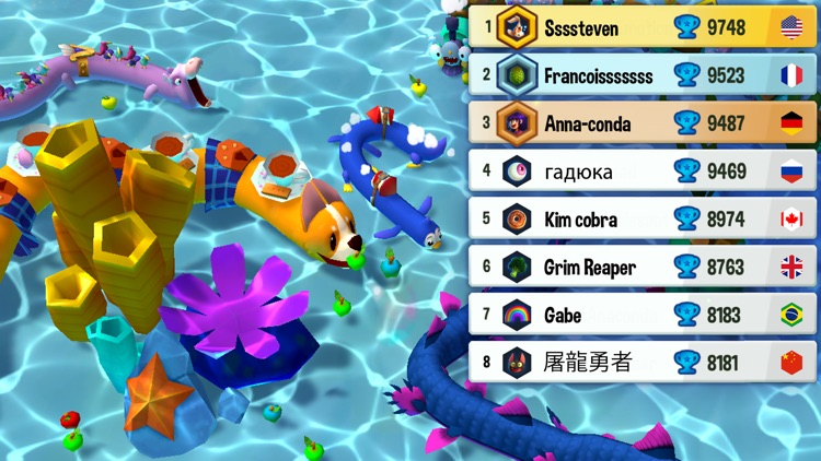 Snake Rivals - Casual Arcade screenshot-5