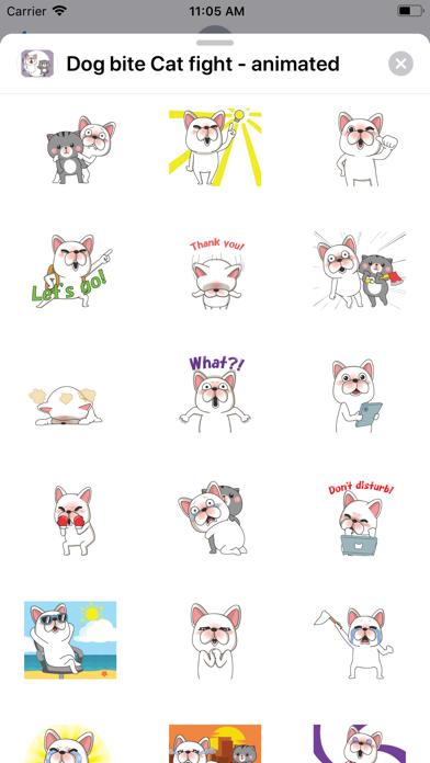 Dog bite Cat fight - animated screenshot 3