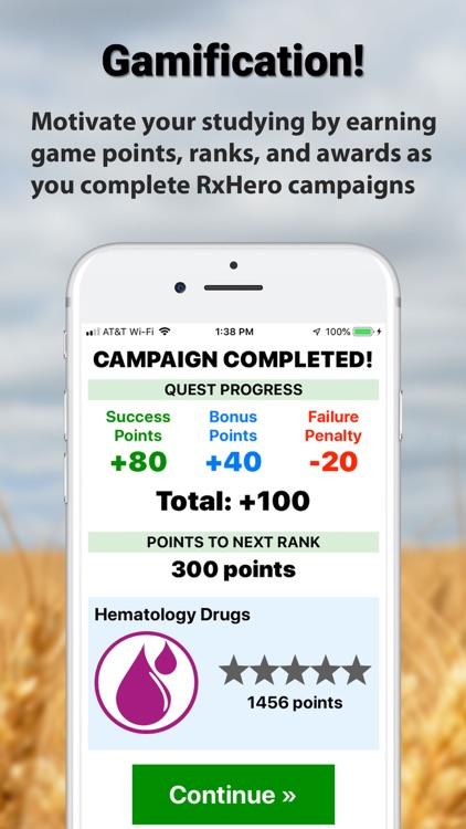 RxHero - Master Top 250 Drugs screenshot-5