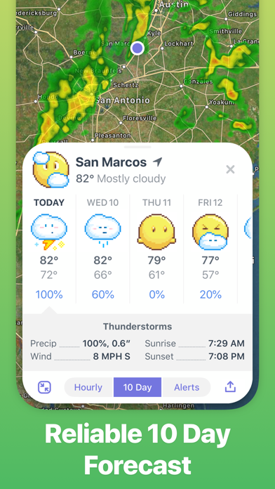 Weather Up ▴ Live Weather Maps Screenshot