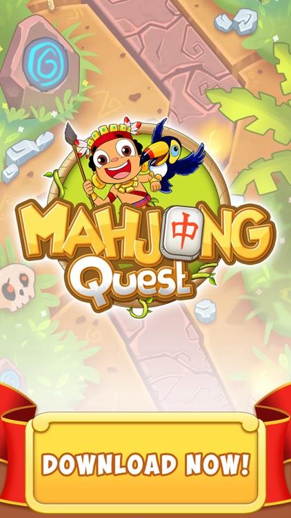 Mahjong Quest - Majong Games screenshot-5