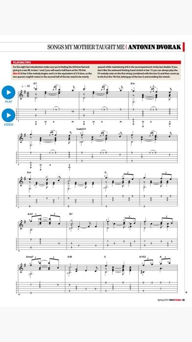 Guitar Techniques Screenshot