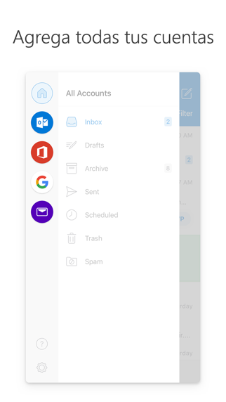 Screenshot for Microsoft Outlook in Peru App Store