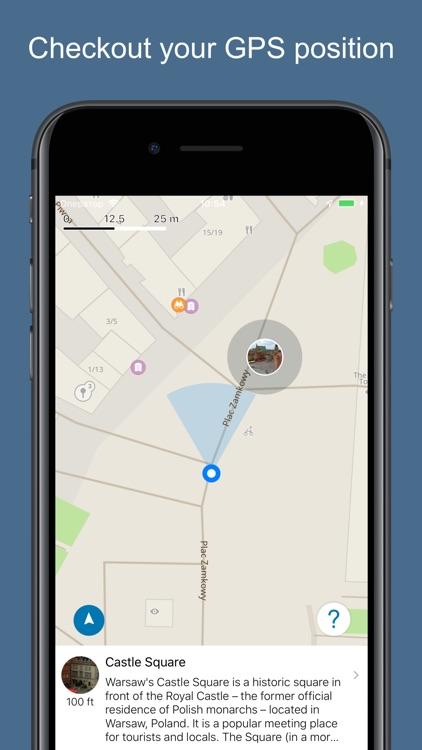 Warsaw 2020 — offline map screenshot-3