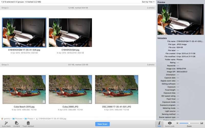 Duplicate Photo Finder Screenshot