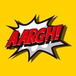 Comic book top stickers