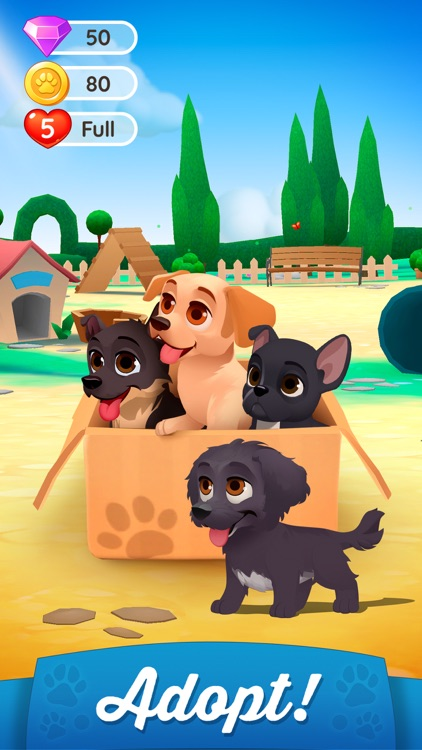 Dogs Home: Match 3 Puzzles screenshot-3