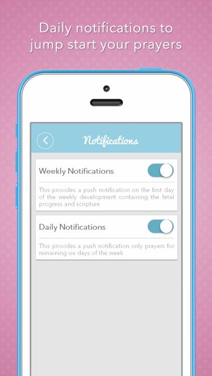 Pregnancy Prayers Daily