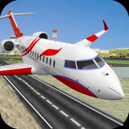 Ícone do app City Airplane Pilot Flight
