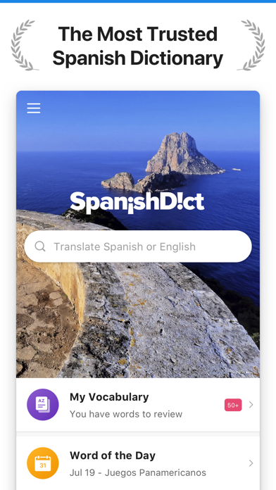 SpanishDict Translator