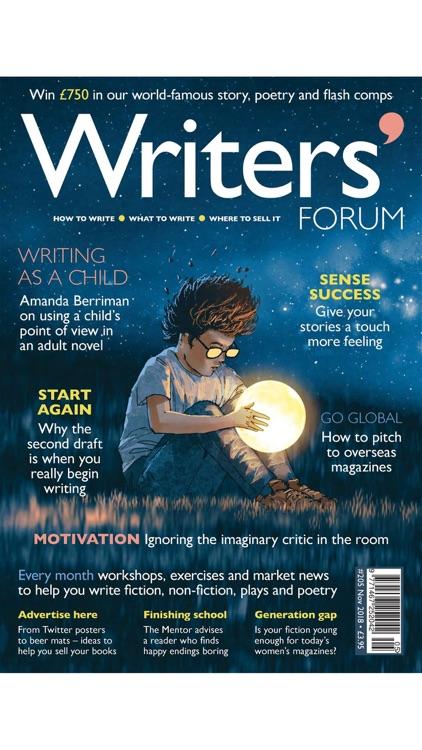 Writers' Forum Magazine screenshot-6