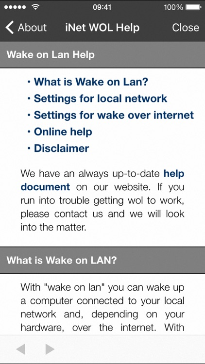 iNet WOL - Wake on Lan screenshot-3