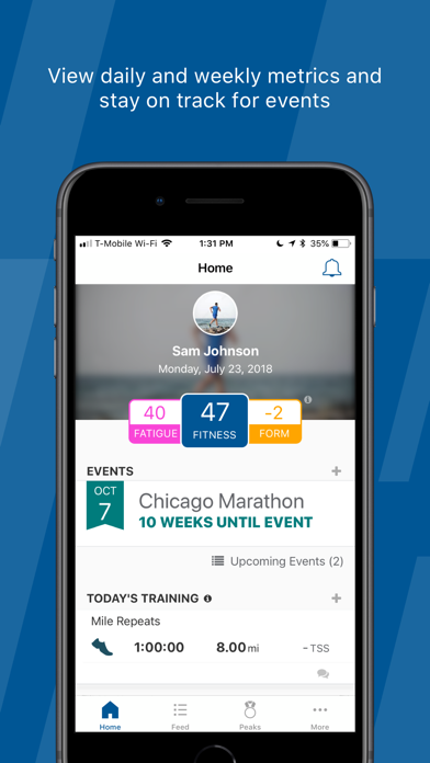 Trainingpeaks review screenshots