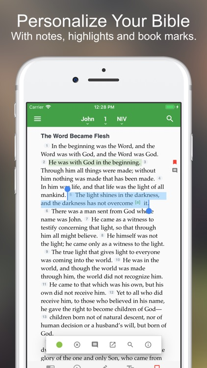 The One Bible App