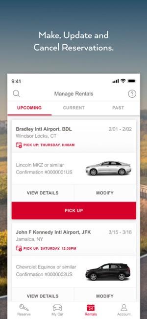 Avis Car Rental On The App Store