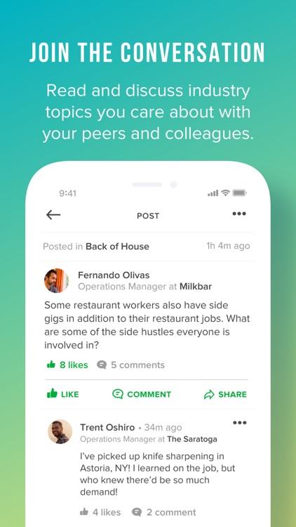 Pared: Restaurant Job Finder