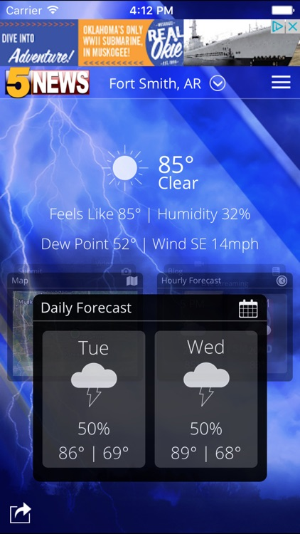 5 NEWS Weather screenshot-0