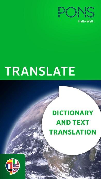 PONS Translateのおすすめ画像1