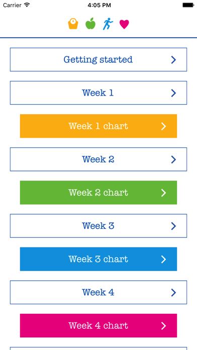 NHS Weight Loss Plan screenshot one