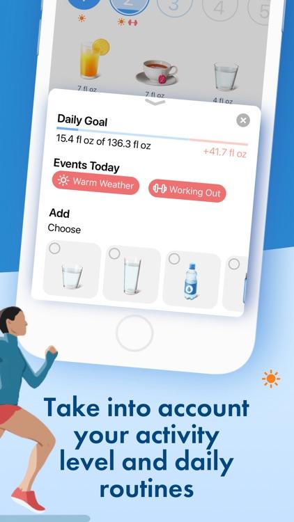 Water Tracker Pro & reminder screenshot-4