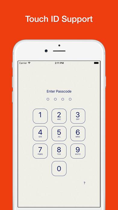 Lock Notes Pro Screenshots