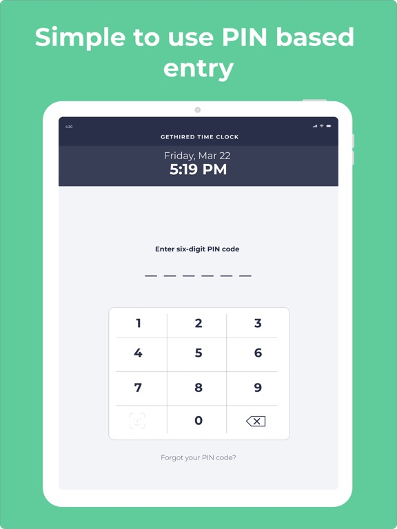GetHired Time Clock | App Price Drops