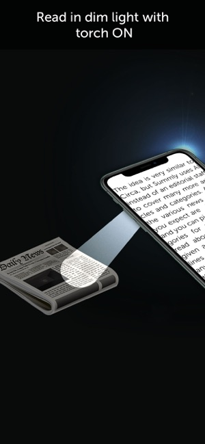 ‎Magnifying Glass & Flash Light Screenshot