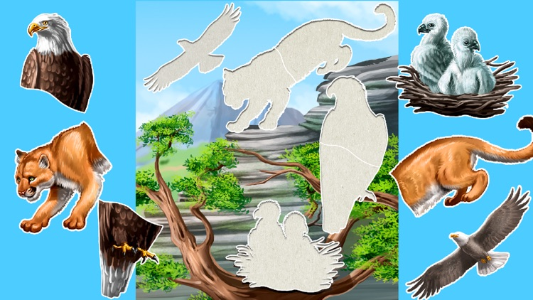 Kids puzzle games: Dinosaurs screenshot-3
