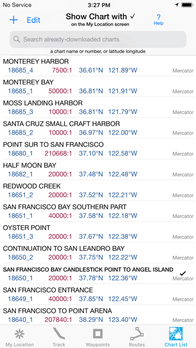 Screenshot for i Sail GPS : NOAA USA Charts in United States App Store