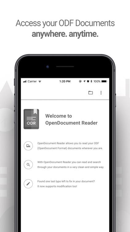 Libre Office: Document reader screenshot-0